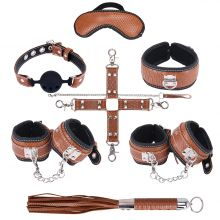 Грас. Набор для БДСМ игр BDSM-NEW PVC Snakeskin Bondage Set,...